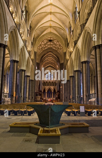 Salisbury Cathedral Font Stock Photos & Salisbury ...