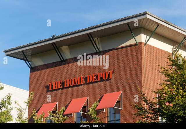 The Home Depot Store In Village At Park Royal Shopping Center West Vancouver