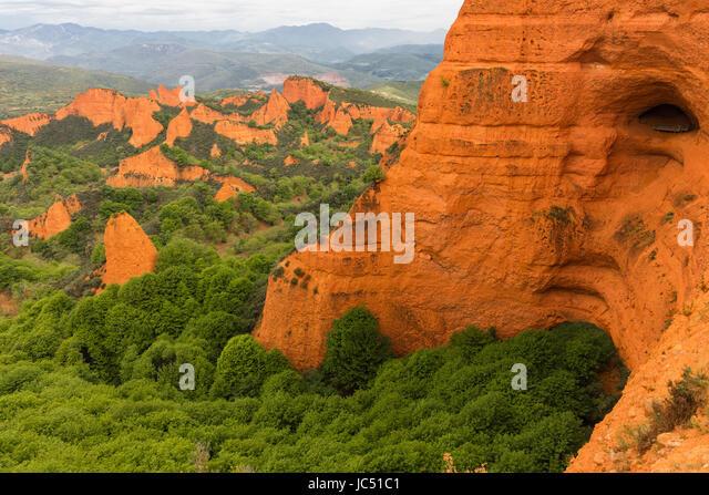 Las Medulas Spain Stock Photos & Las Medulas Spain Stock Images - Alamy
