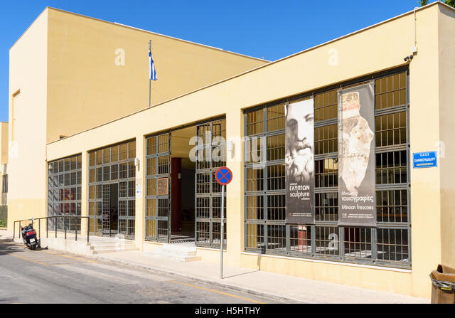 Heraklion Archaeological Museum Stock Photos & Heraklion ...