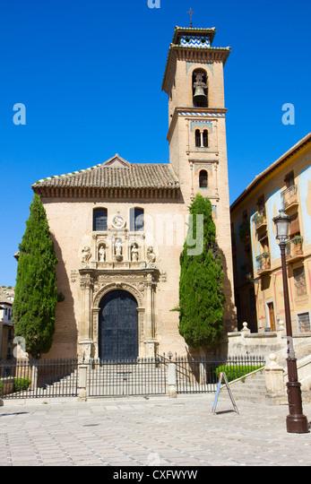 Church santa ana bell tower stock photos church santa - Santa ana granada ...