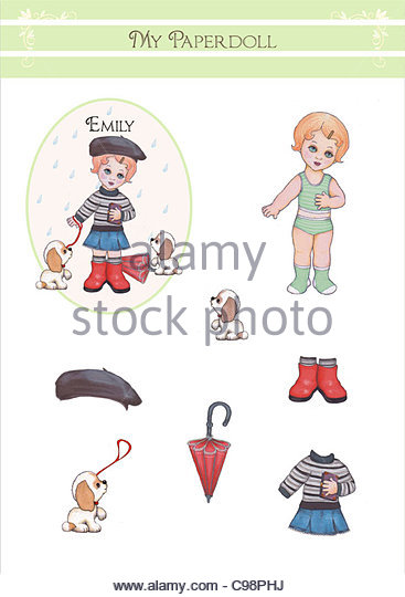 Weather Paper Doll Stock Photos  Weather Paper Doll Stock Images