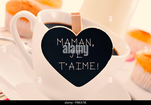 Je t aime stock photos je t aime stock images alamy - Image i love you maman ...