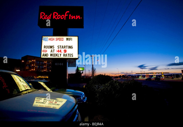 Red Roof Inn, Santa Fe, New Mexico, United States Of America, North