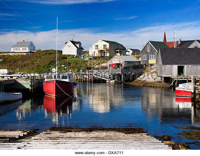 Quaint atlantic canada stock photos quaint atlantic for Nova scotia fishing