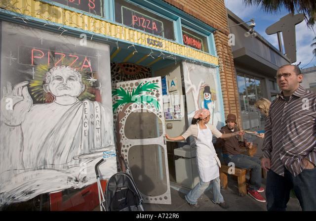 Restaurant venice beach los angeles stock photos for Abbott california cuisine