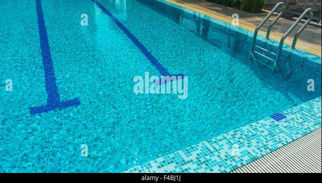 Swimming Pool Finish Line : Swimming finish line stock photos
