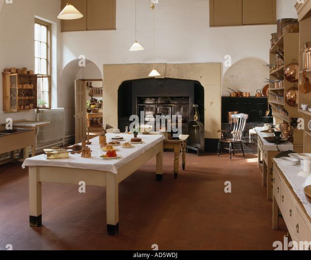 Victorian Kitchen Floor: Victorian Kitchen Stock Photos & Victorian Kitchen Stock
