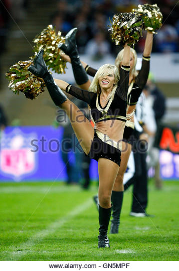 New Orleans Saints Cheerleaders Stock Photos Amp New Orleans
