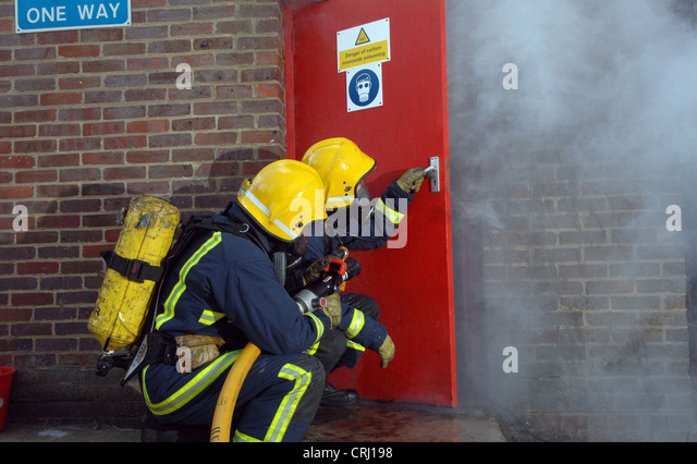 Open Fire Door Stock Photos Open Fire Door Stock Images