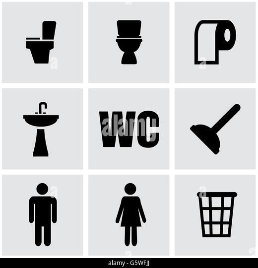 Toilet Sign Vector Stock Photos & Toilet Sign Vector Stock ...