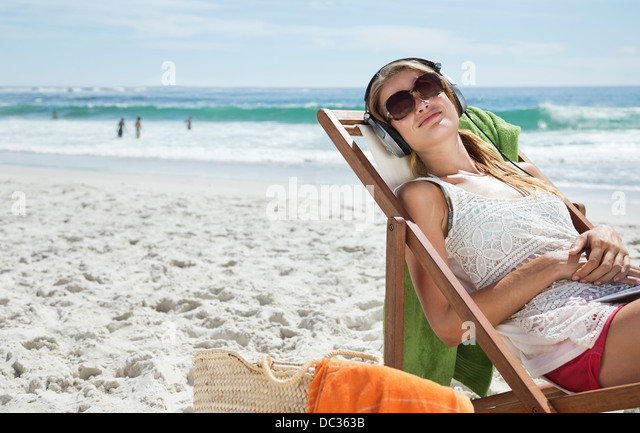 Serene beach chair