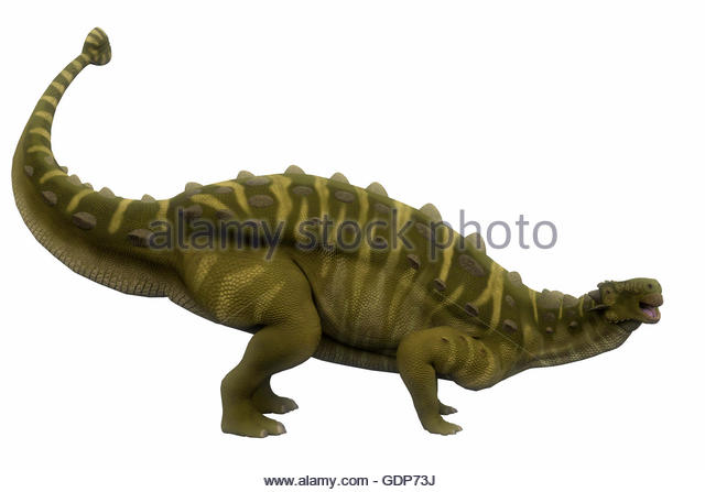 Talarurus Dinosaur Side Profile Was A Herbivorous Armored That Lived In The