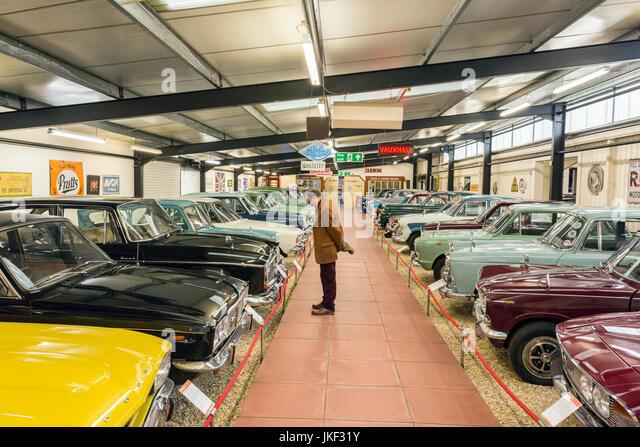 Vintage British Motor Cars Stock Photos Vintage British Motor
