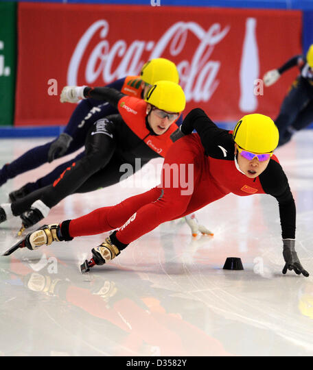 Chinas Meng Wang Front In Action To Win The Heat Of Short Stock Photos Images Alamy