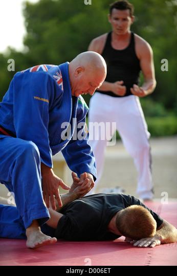 martial arts teacher