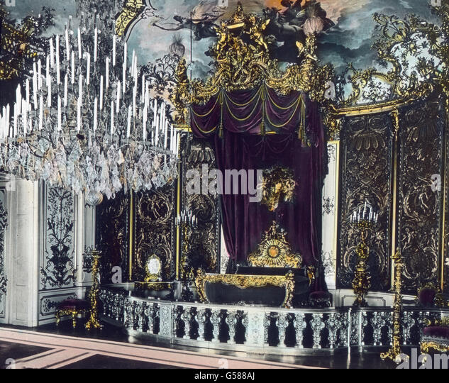 Linderhof Interior Stock Photos & Linderhof Interior Stock Images ... Ludwig Xiv Schlafzimmer
