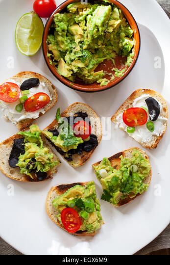 Cheese sandwich above stock photos cheese sandwich above for Canape spread