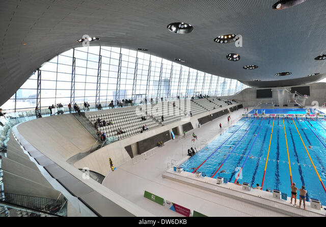 queen elizabeth olympic park stratford london uk 1st march 2014 the - Olympic Swimming Pool 2014
