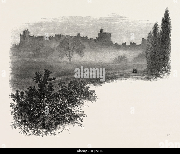 WINDSOR CASTLE FROM THE HOME PARK UK Britain British Europe