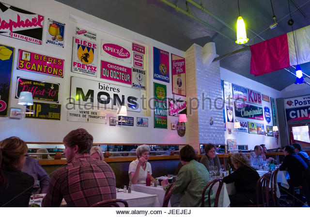 People inside french cafe stock photos people inside - Bureau change bastille ...