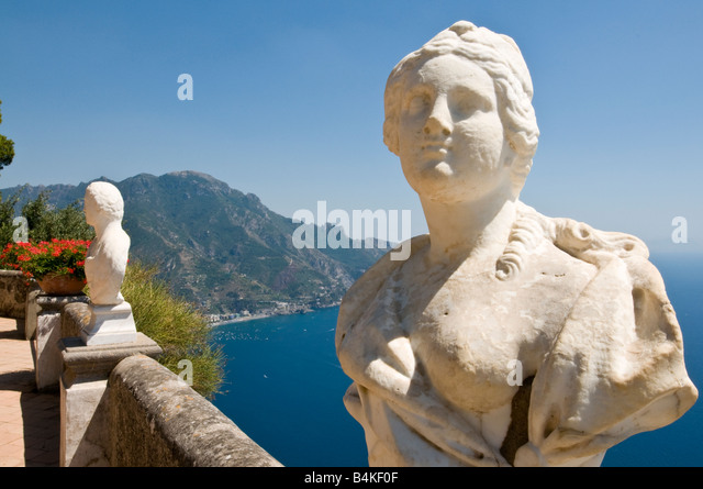 Belvedere infinity villa cimbrone on stock photos for Terrace of infinity