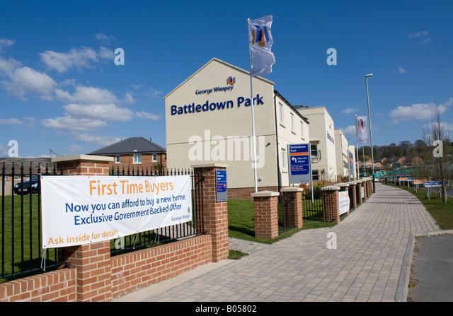New First Time Buyers Wimpey Properties Battledown Park Cheltenham UK
