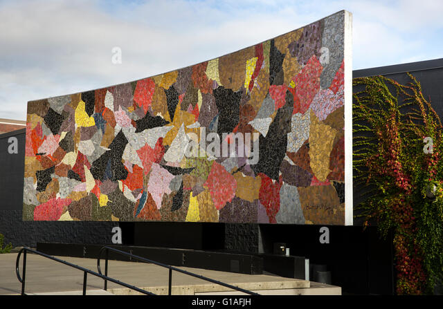 Modern murals stock photos modern murals stock images for Cape cinema mural