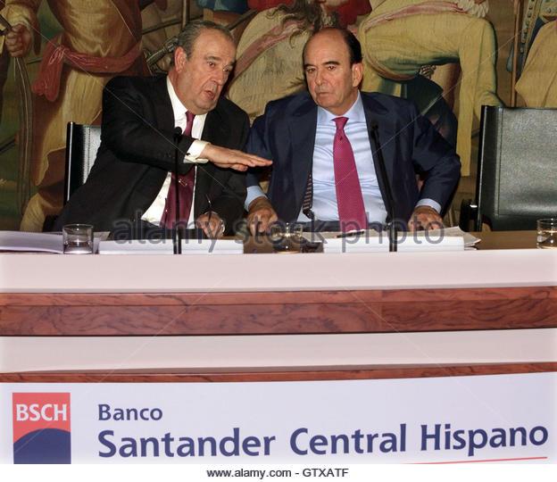 Emilio botin l stock photos emilio botin l stock images alamy - Pisos santander central hispano ...