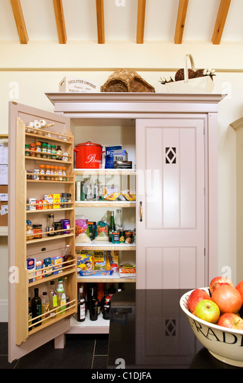bespoke pantry stock photos bespoke pantry stock images alamy. Black Bedroom Furniture Sets. Home Design Ideas
