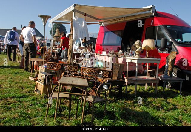 brocante normandy stock photos brocante normandy stock. Black Bedroom Furniture Sets. Home Design Ideas