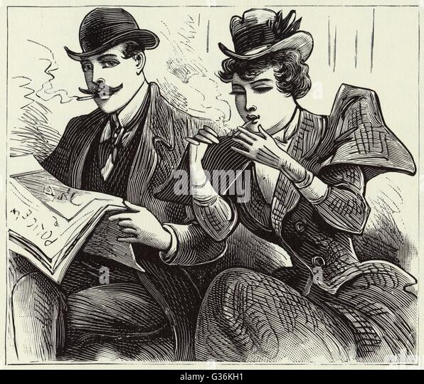 Dating a smoking woman