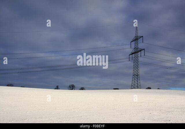 winter landscape mast electrical wiring stock photos & winter, electrical diagram, landscape electrical wiring