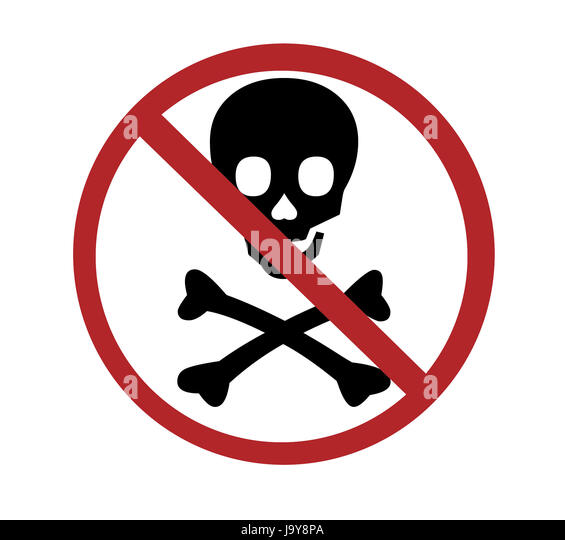 No Poison Symbol Cut Out Stock Images Pictures Alamy
