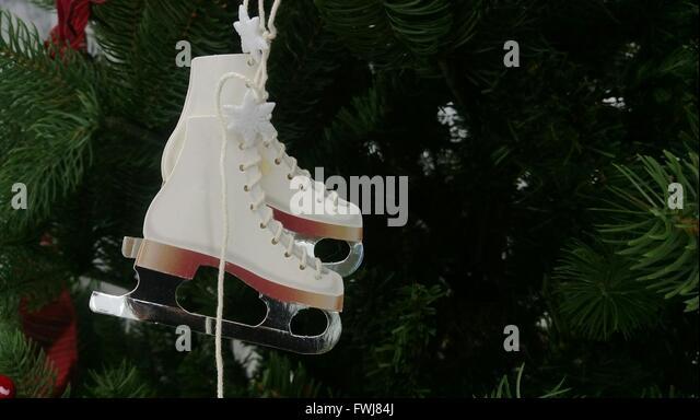 Ice Skate Christmas Ornament Stock Photos & Ice Skate Christmas ...