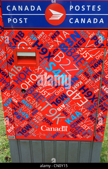 Postal Codes Stock Photos Postal Codes Stock Images Alamy - Canada postal code database free download