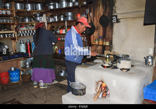 Tea house and nepal stock photos tea house and nepal for Kitchen equipment in nepal