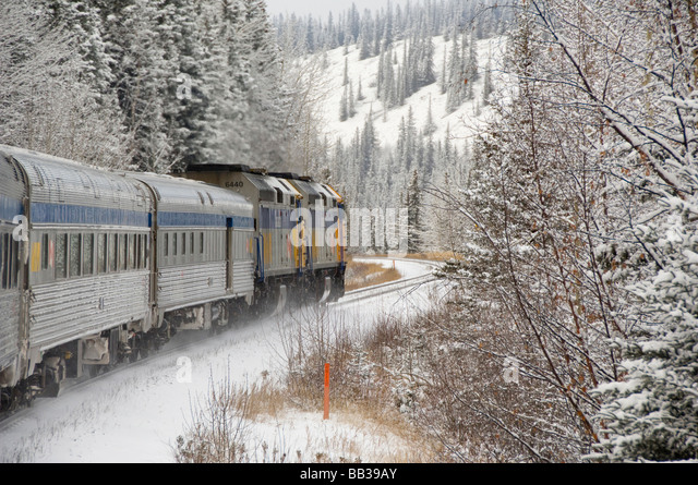 Via Rail Canadian Train Stock Photos Amp Via Rail Canadian