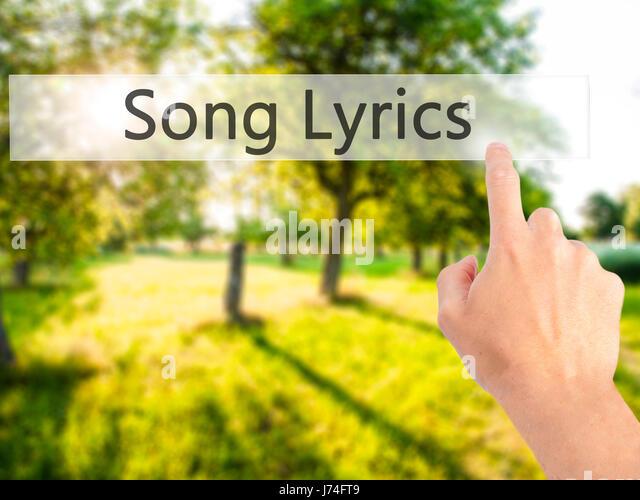 Hand Lyrics Stock Photos & Hand Lyrics Stock Images - Alamy