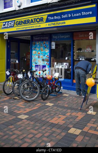 Pawn shop window stock photos pawn shop window stock for Jewelry pawn shops birmingham al