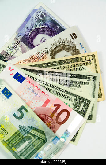 euros and dollar notes stock photos euros and dollar notes stock images alamy. Black Bedroom Furniture Sets. Home Design Ideas