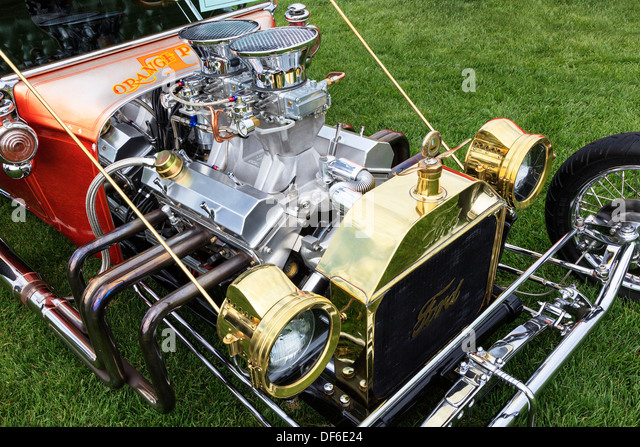 Engine car ford stock photos engine car ford stock for Modern classic motors grand junction co