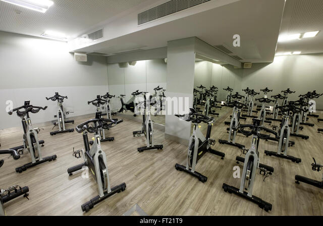 Holmes place health club stock photos