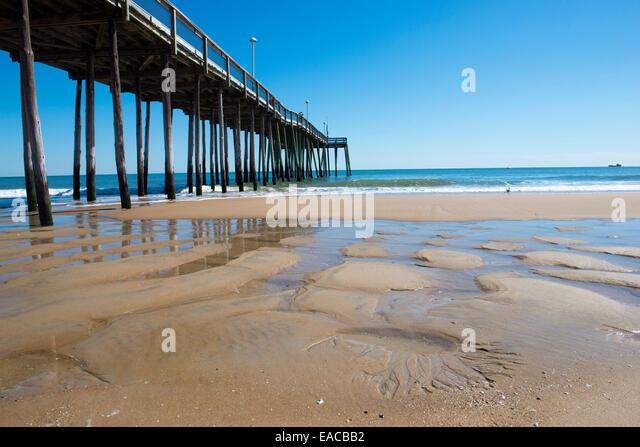 Ocean city maryland beach stock photos ocean city for Ocean city md fishing pier
