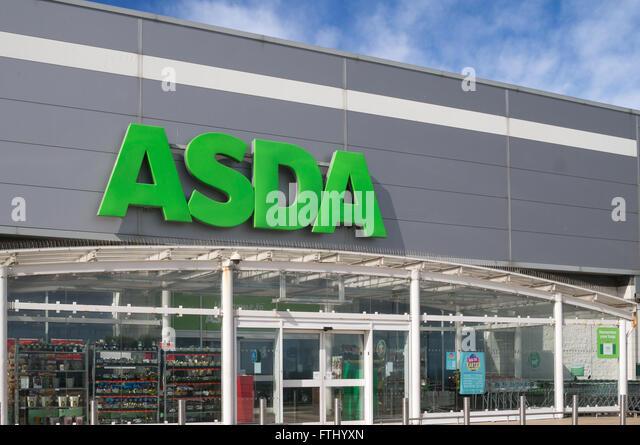 Asda Store Front Stock Photos Amp Asda Store Front Stock