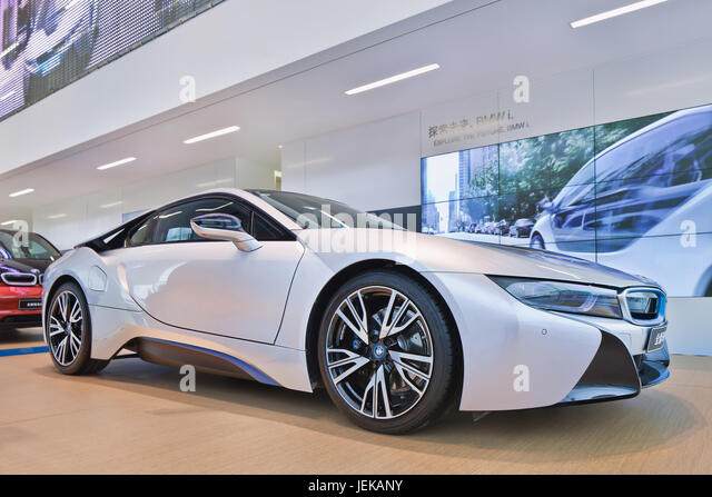 Bmw I8 Sports Car Stock Photos  Bmw I8 Sports Car Stock Images