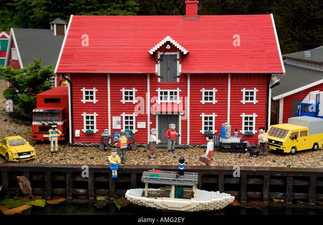 Lego House Denmark Stock Photos Lego House Denmark Stock