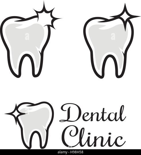 Dental Logo Template Stock Photos & Dental Logo Template Stock ...
