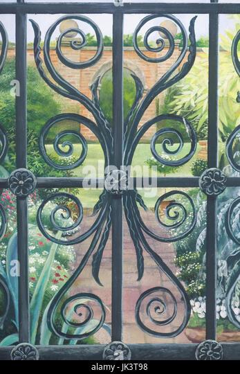 Trompe L\'oeil Garden Stock Photos & Trompe L\'oeil Garden Stock ...
