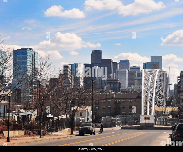 Downtown Denver Colorado Usa Stock Photos & Downtown